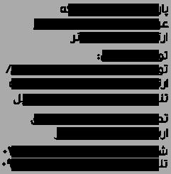 پاراوان ساده سفیدباران عرض 60| پارسامارکتینگ